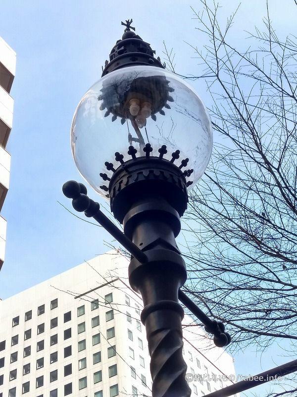 ビクトリアタワー周辺のガス灯と同じもの