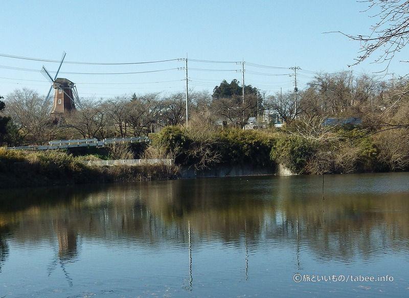 堤体と洪水吐