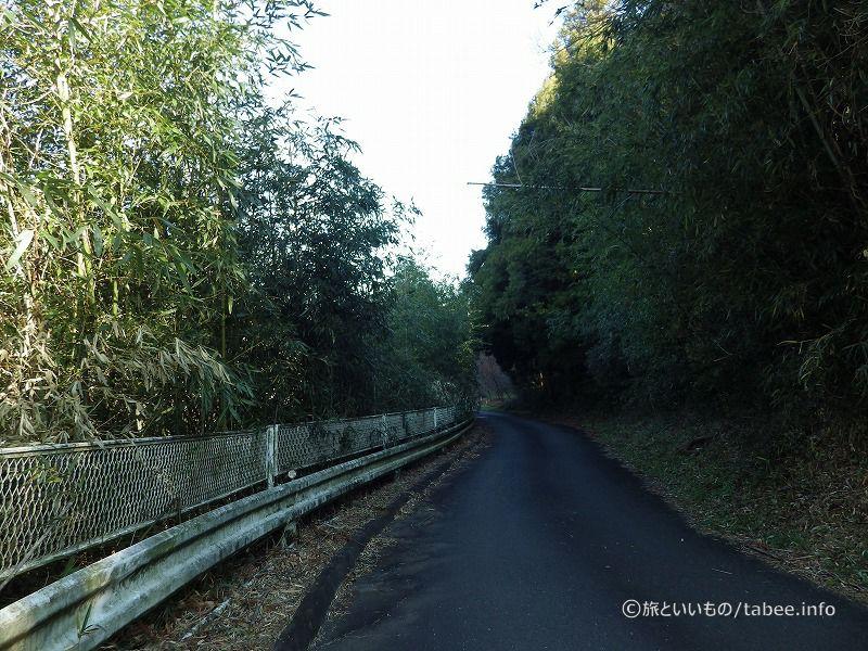 寺沢沼周辺道路