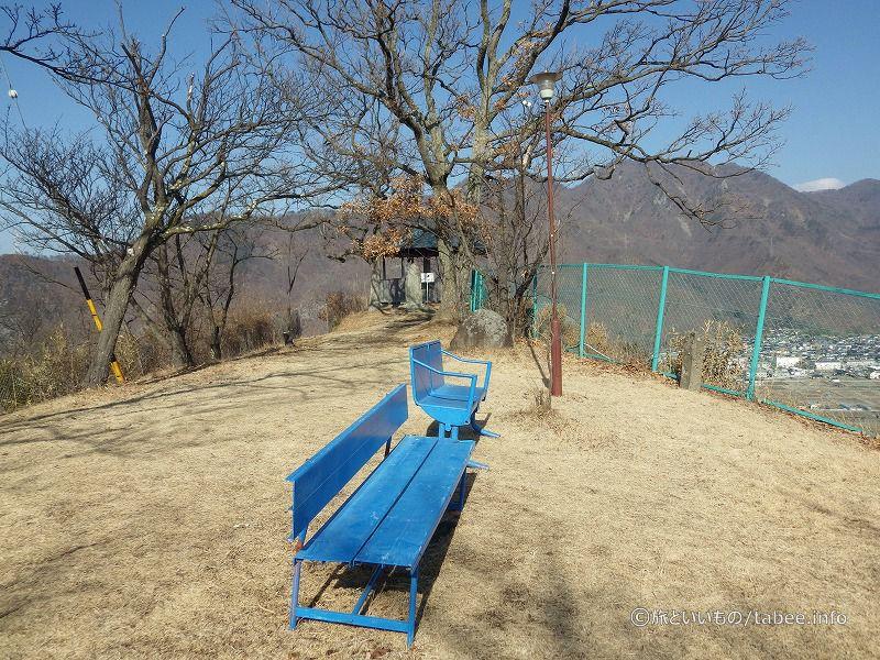 空色のベンチ