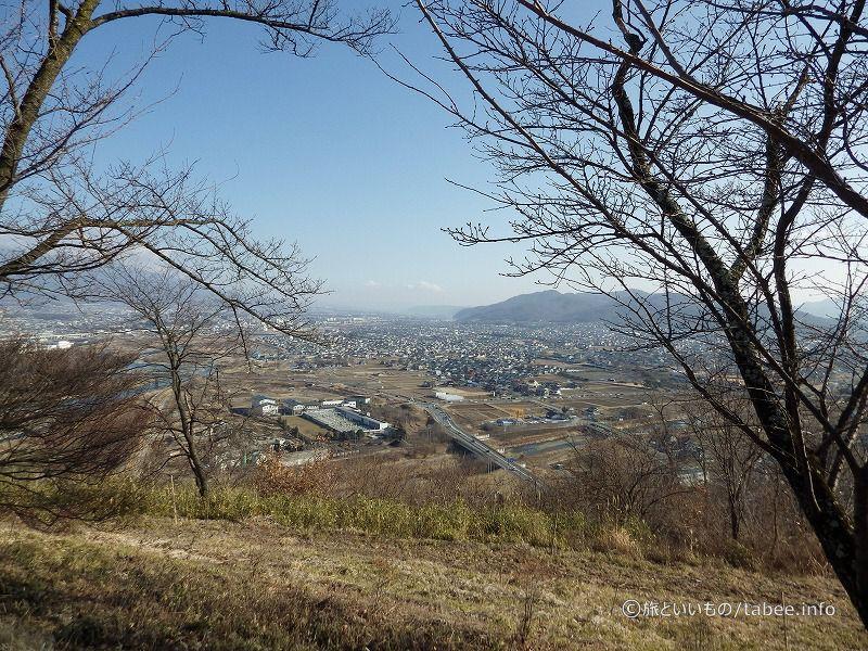 上田市街が見渡せます