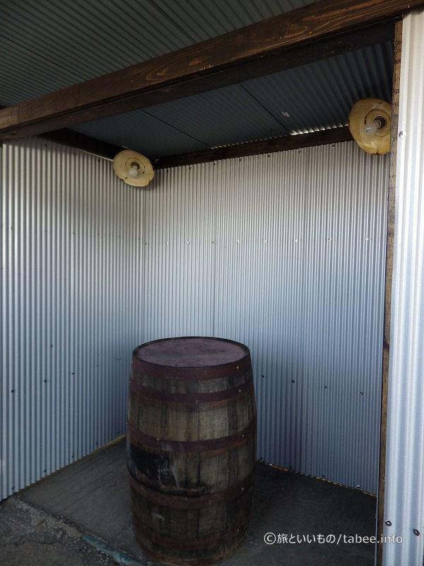 樽テーブルコーナー