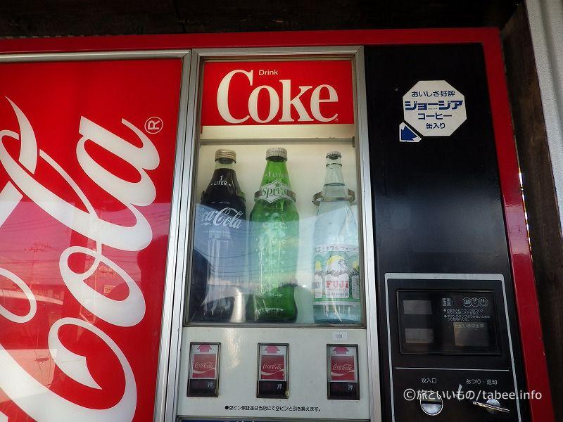 コーラの自販機