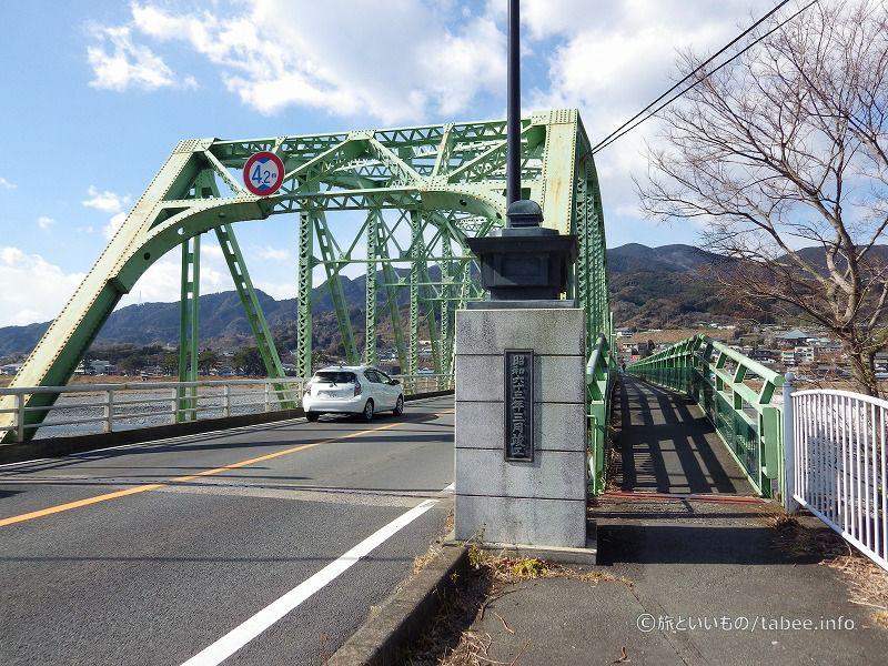 トラス橋と歩道