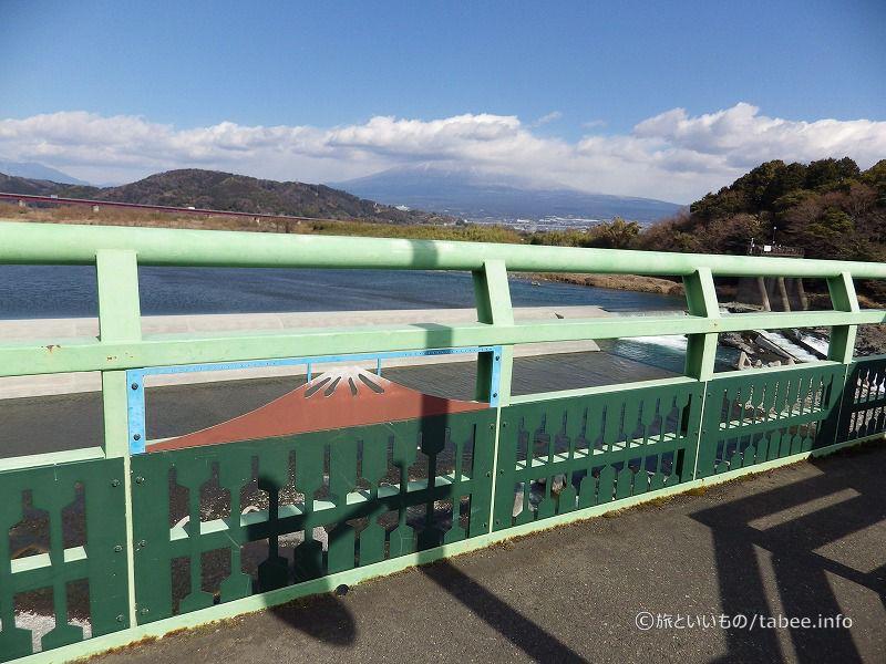 富士山が見えるんですよ