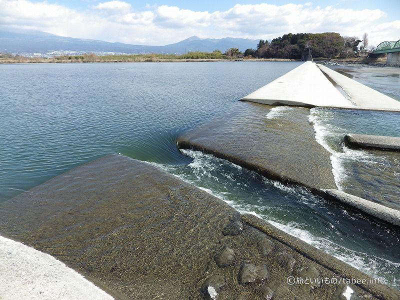 水が集まる場所