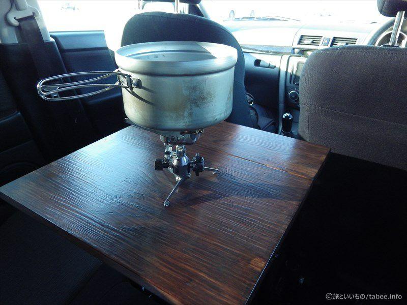 イワタニのバーナーと鍋