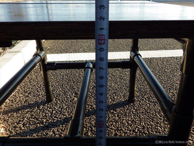 高さ42センチ
