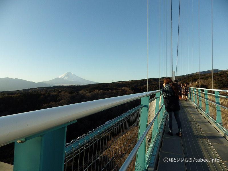 橋からの富士山