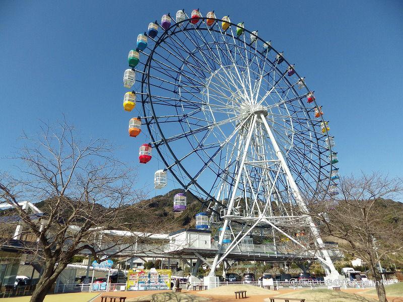 観覧車から富士山を見るのもいいですね