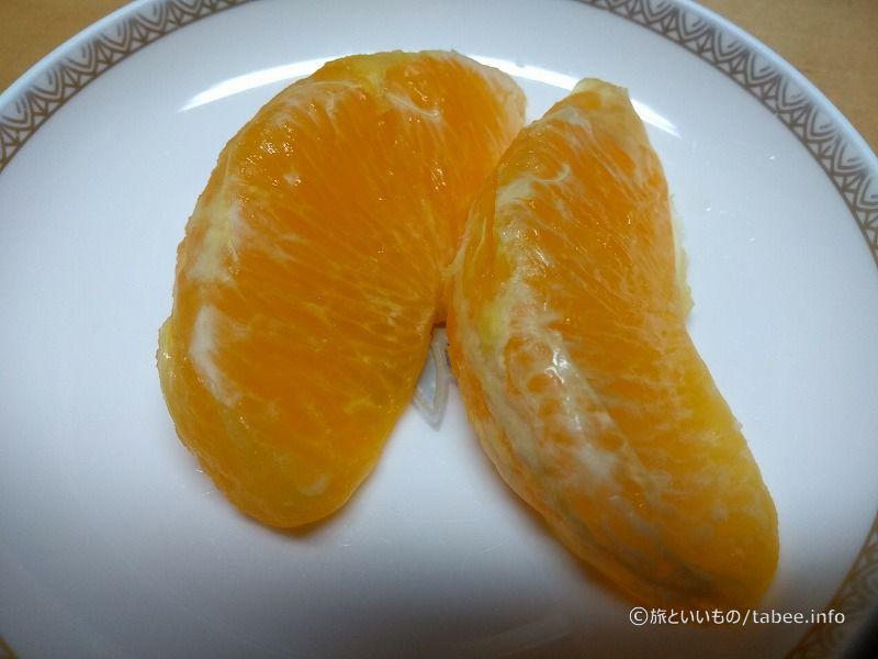 薄い皮のオレンジ