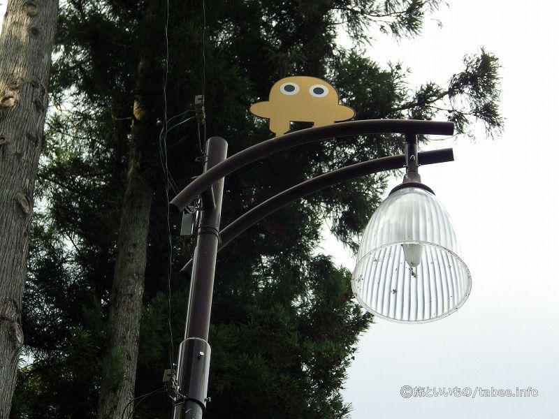 タバスキーの外灯