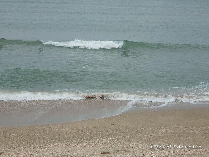 綺麗な浜辺です