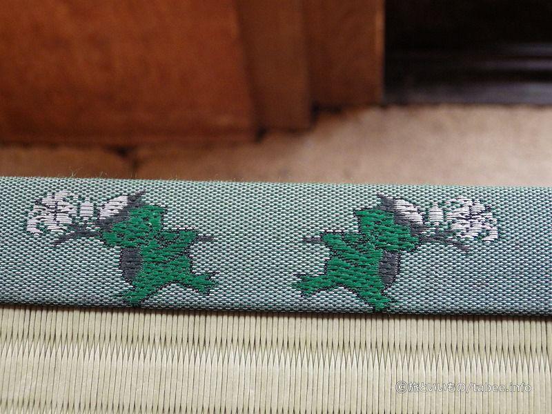 かわいい畳の縁