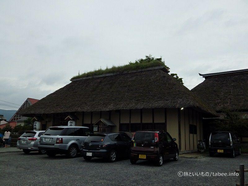 1850年ごろに建てられた農家の納屋を移築したものとのこと
