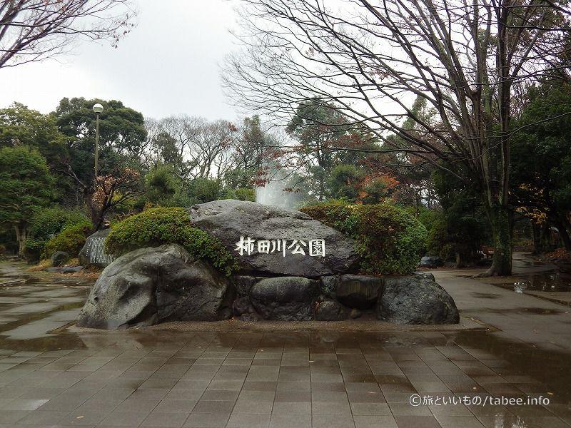 柿田川公園正面
