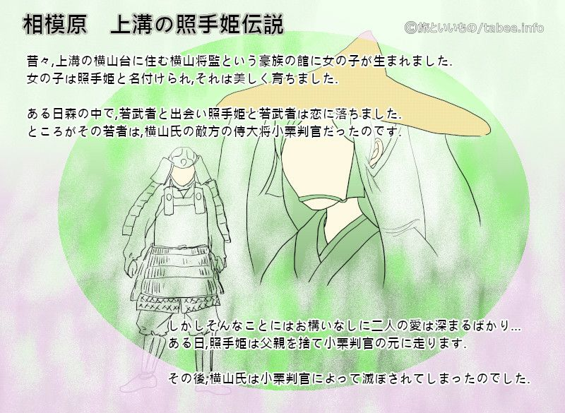 上溝の照手姫伝説