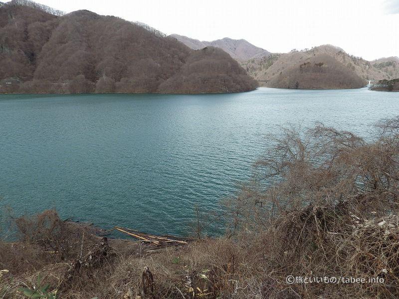 きれいな湖面