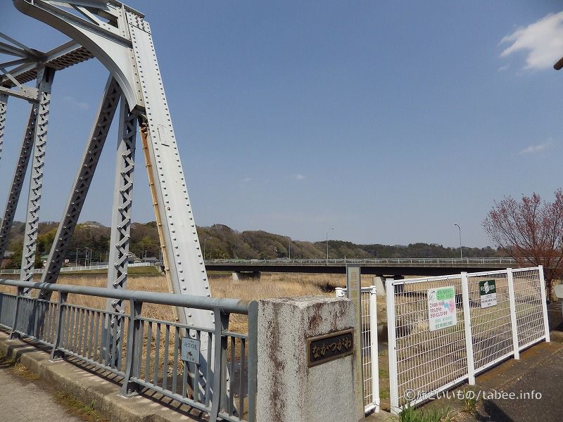 下流側隣には平山大橋