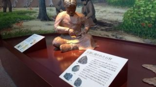 石器を作る人