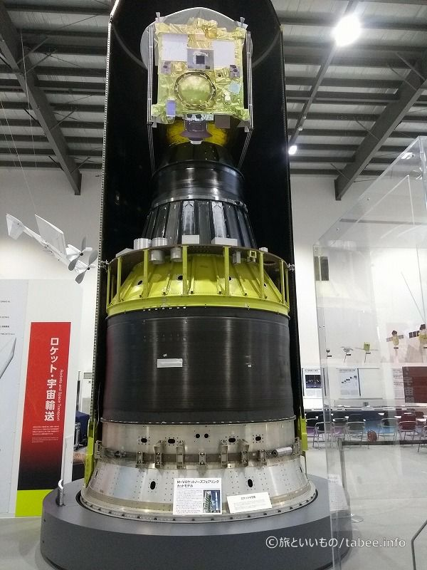M-Vロケットノーズフェアリングカットモデル
