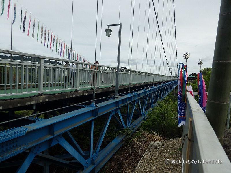 吊り橋の構造
