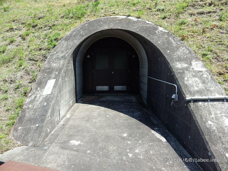 左岸監査廊入口