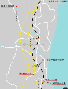道の駅ならは周辺マップ(クリックで拡大)