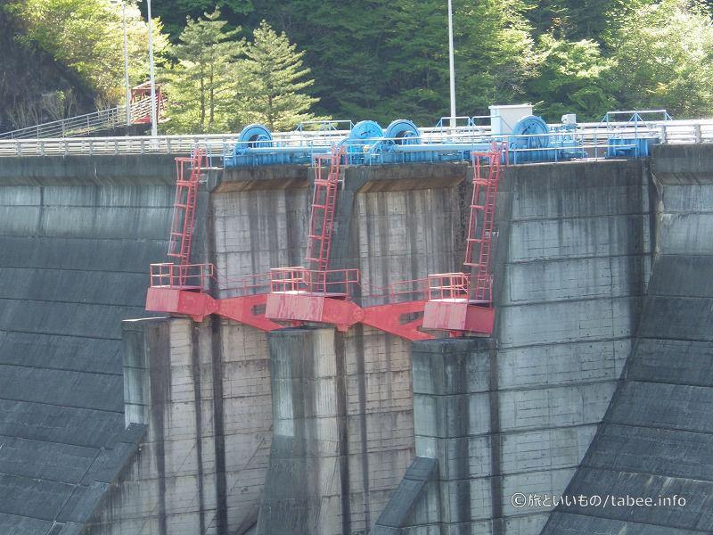 ラジアルゲートが2門あるようです。