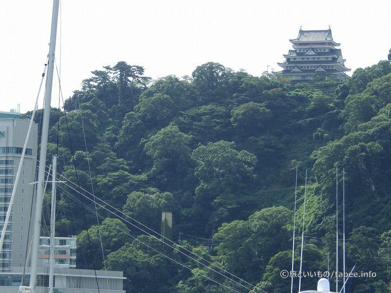 熱海城も見えます
