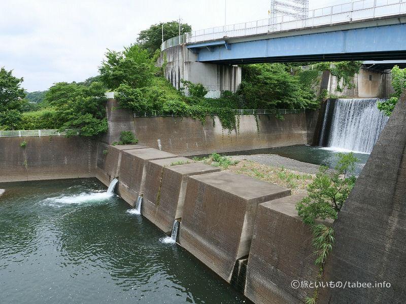 三段の滝左岸側から