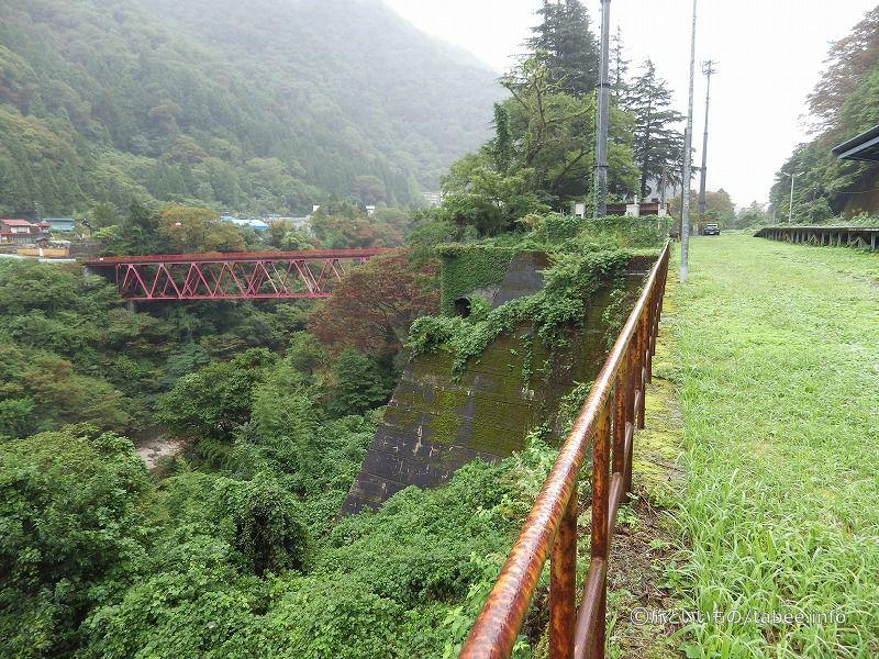 左に高原川