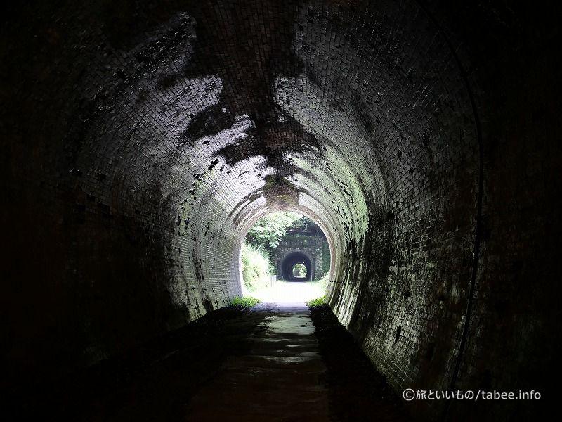 3号隧道が見えます