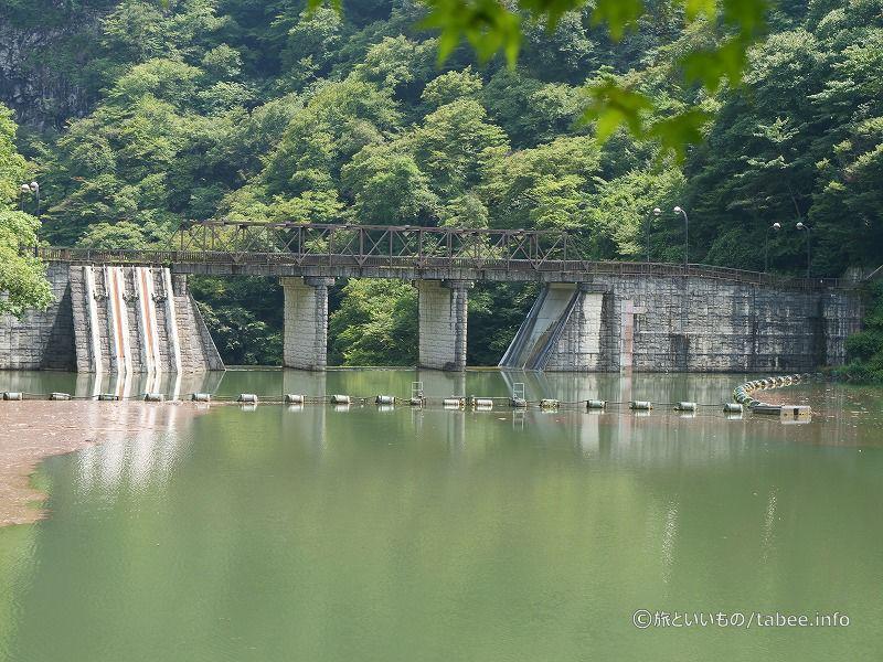 坂本ダム上流