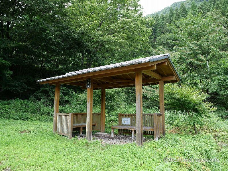 中尾小屋という名称の休憩所