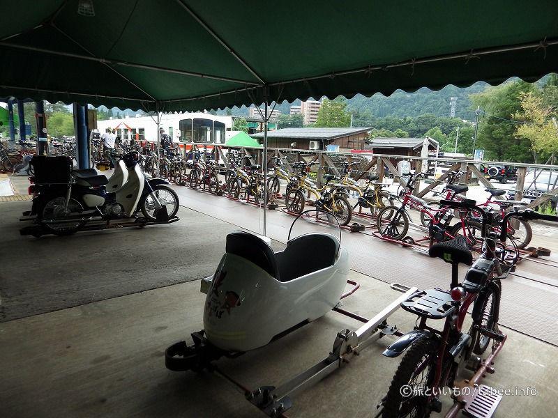 マウンテンバイクの他の乗り物