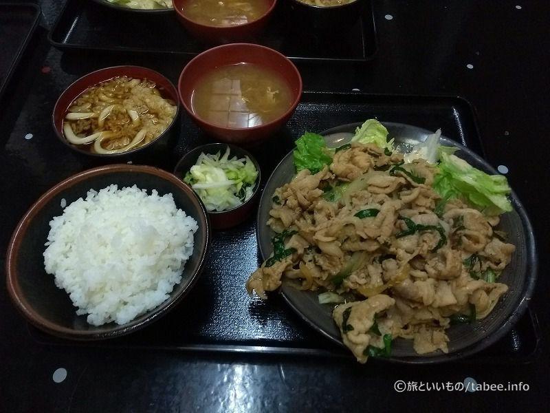 スタミナ定食 1,120円