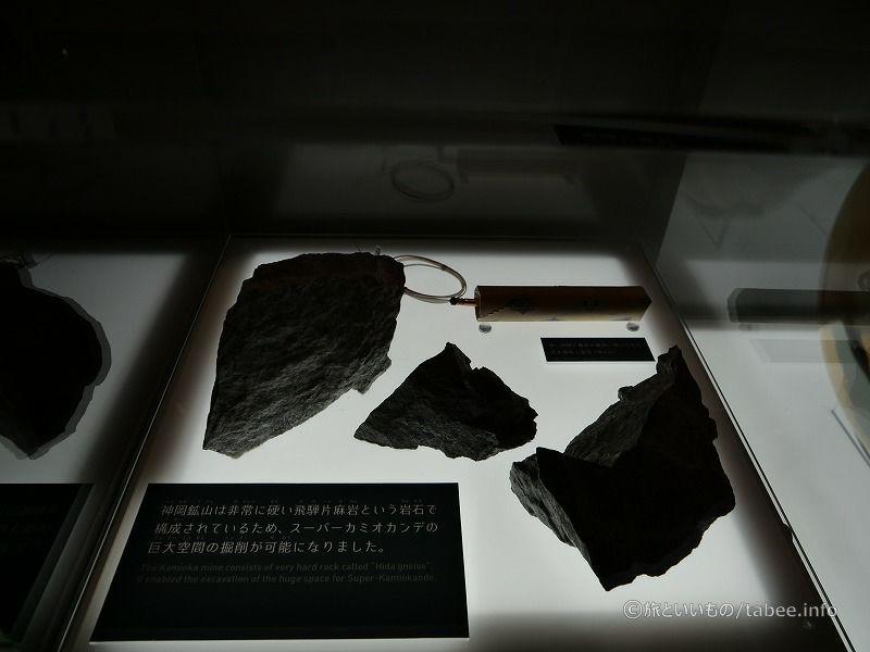 神岡鉱山の岩盤は堅い