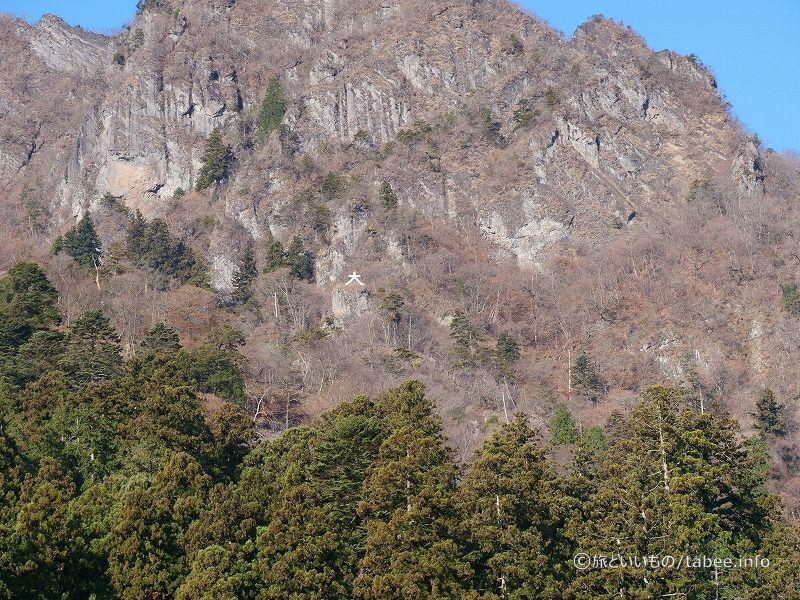 白雲山の大の字も良く見えます