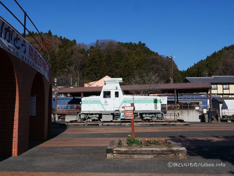 トロッコ列車の発着駅