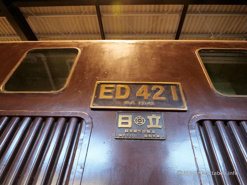 ED421 (国鉄ED42形電気機関車 Wikipedia)