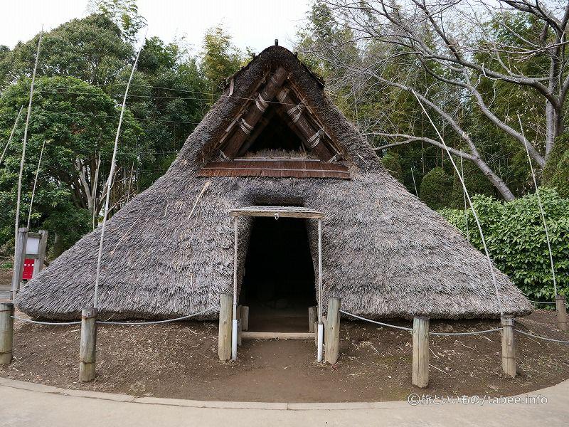 弥生時代の住居入口