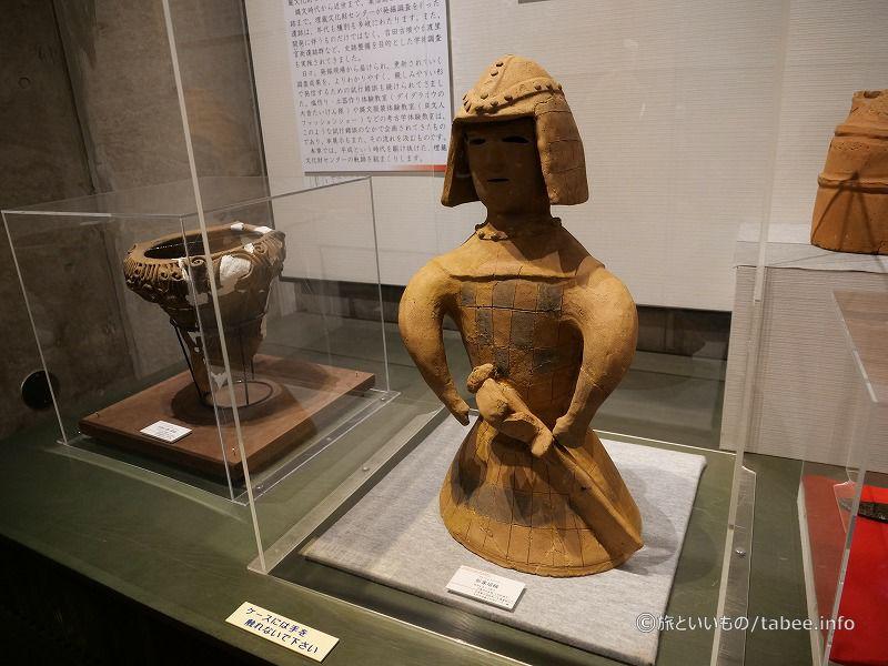 形象埴輪(6世紀後半)