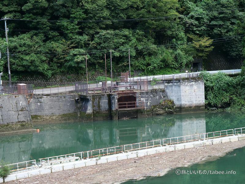 大沢野用水取水口