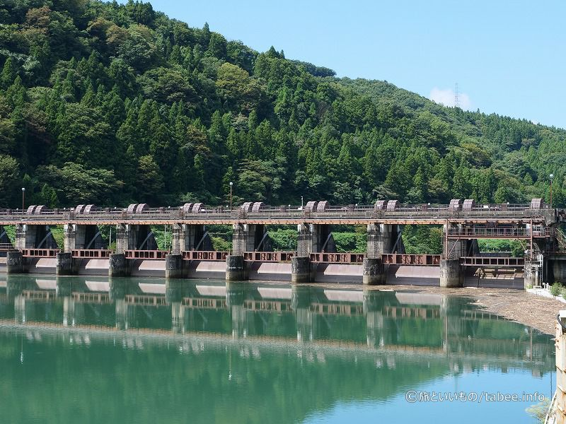 神二ダム上流