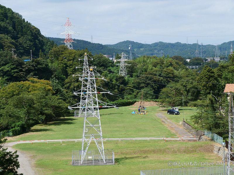 発電所の敷地