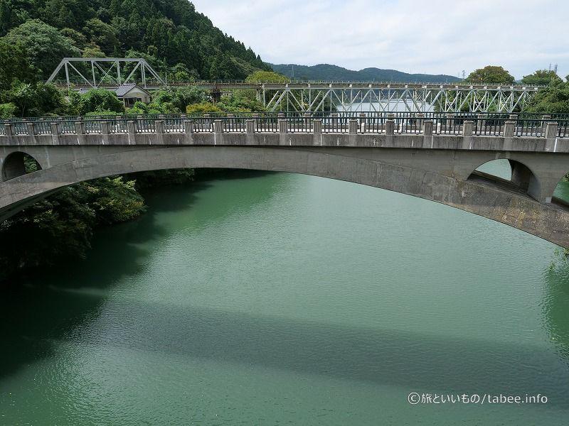 笹津橋が架かっているのは神通川