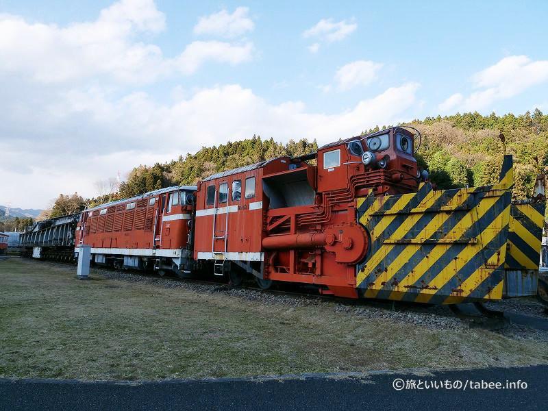 除雪用ディーゼル機関車