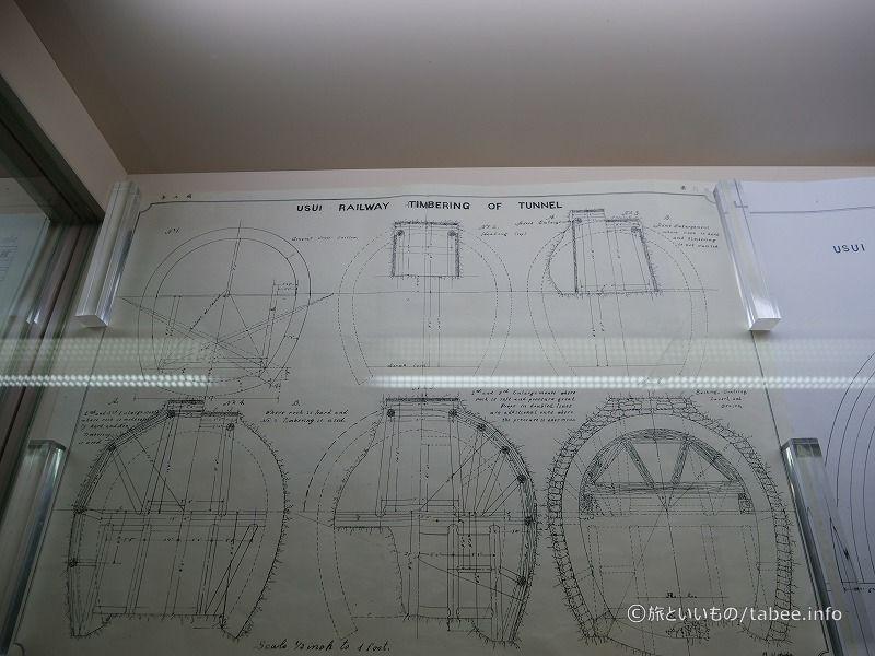 トンネルの製図