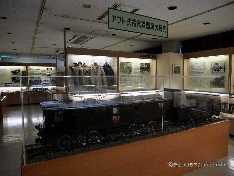国鉄時代のアイテムなどの展示も